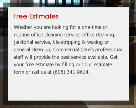 Commercial and Janitorial Cleaning Wisconsin